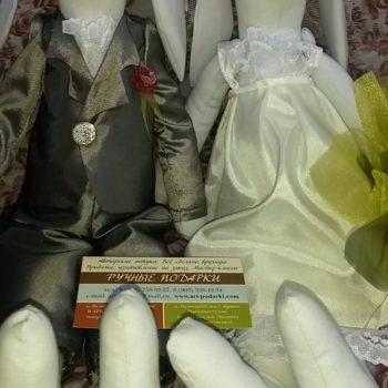 Парочка свадебных зайцев