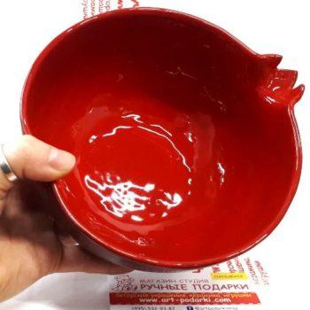 Конфетница, ваза, Гранат