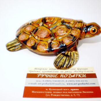 Черепаха керамика